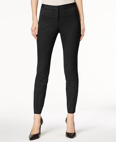 Alfani Seamed Skinny Pants, Created for Macy's