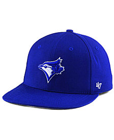 '47 Brand Boys' Toronto Blue Jays Basic Shot Snapback Cap