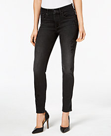 Levi's® 721 High-Rise Skinny Embroidered Jeans