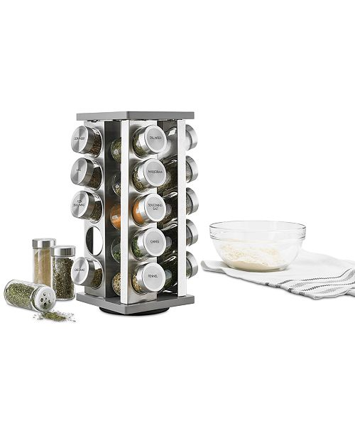 Martha Stewart Collection 21-Pc. Spice Rack, Created for Macy's