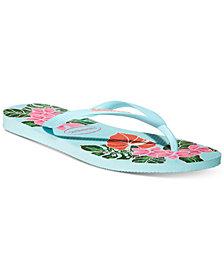 Havaianas Women's Slim Floral Flip Flops