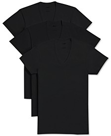 Men's Essential 3 Pack Slim Fit T-Shirt