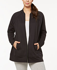 Ideology Performance Plus Size Jacket, Created for Macy's
