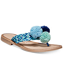 Callisto Pomm Flat Sandals