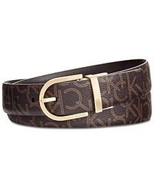 Calvin Klein Signature Reversible Leather Belt