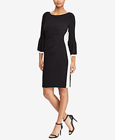Lauren Ralph Lauren Colorblocked Slim Fit Dress