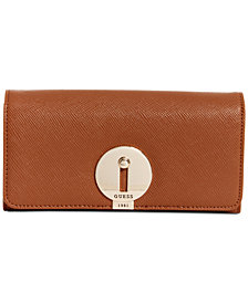GUESS Augustina Boxed Large Flap Organizer Wallet, Created for Macy's