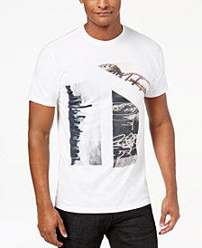 I.N.C. Men's City Sites Graphic T-Shirt, Created for Macy's