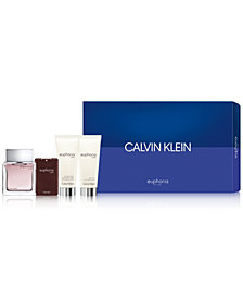 Calvin Klein Men's 4-Pc. Euphoria For Men Gift Set