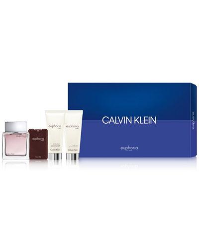 Calvin Klein Men's 4-Pc. Euphoria For Men Gift Set