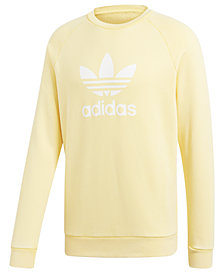 adidas Originals Men's adicolor Trefoil Crewneck Sweatshirt