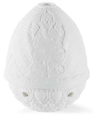 Lladro Collectible Figurine, Lord Ganesha Lithophane Candle Holder