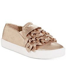 Kenneth Cole New York Kam Ruffle Slip-On Shoes, Little Girls & Big Girls