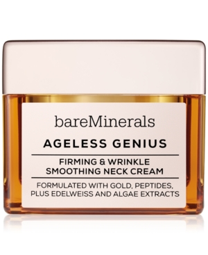 Image of bareMinerals Ageless Genius Firming & Wrinkle Smoothing Neck Cream