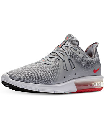 Image 2 of Nike Men's Air Max Sequent 3 Running Sneakers from Finish Line