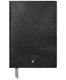 Fine Stationery #146 Black Lined Notebook