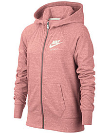Nike Sportswear Zip-Up Hoodie, Big Girls