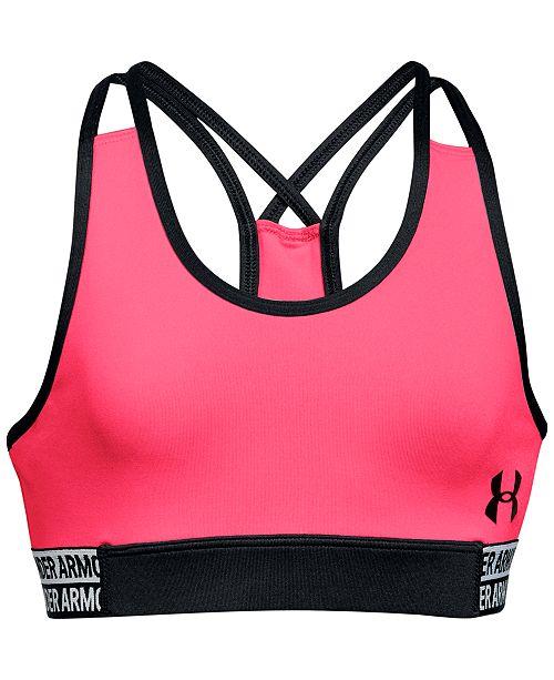 e650e720890d5 Under Armour Big Girls HeatGear® Sports Bra   Reviews - All Kids ...