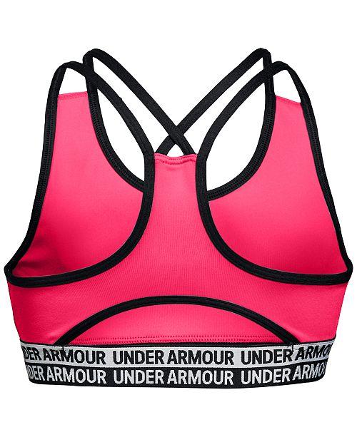 465f28b0b4a51 Under Armour Big Girls HeatGear® Sports Bra   Reviews - All Kids ...