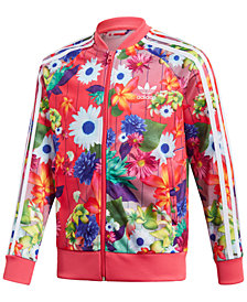 adidas Originals Printed Bomber Jacket, Big Girls