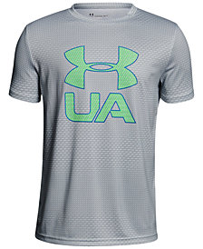 Under Armour Printed Logo-Print T-Shirt, Big Boys