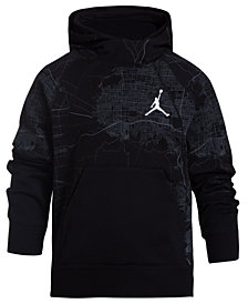 Jordan Wings Graphic-Print Hoodie, Big Boys