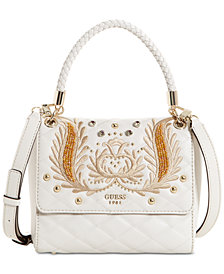 GUESS Alessia Top-Handle Crossbody