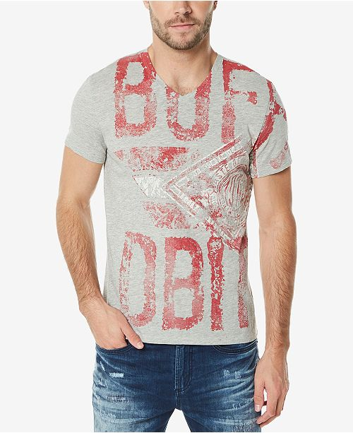 d8b1a20f067a8 Buffalo David Bitton Men s Graphic-Print T-Shirt - T-Shirts - Men ...