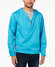 LRG Men's Sierra Half-Zip Hooded Windbreaker