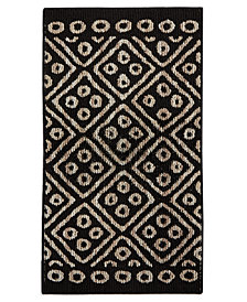 "Charter Club Scatter 30"" x 45"" Geo-Print Accent Rug, Created for Macy's"