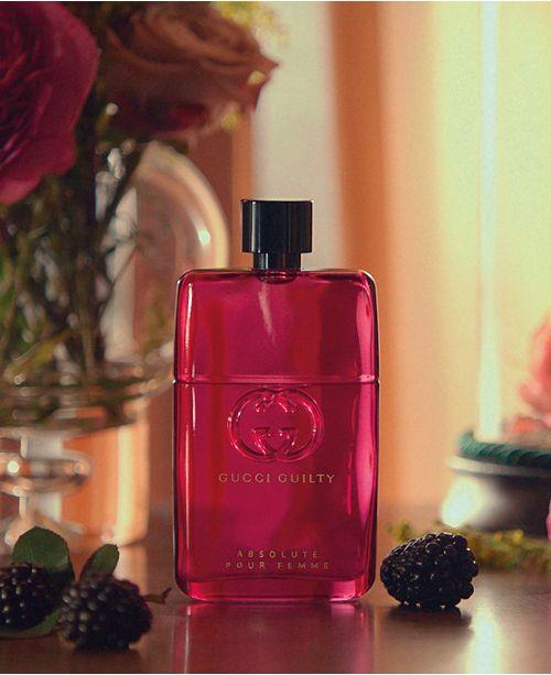 Gucci Guilty Absolute Pour Femme Eau De Parfum Fragrance Collection