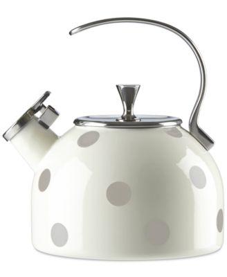 new york All in Good Taste Deco Dot Tea Kettle