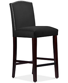 Callon Velvet Bar Stool, Quick Ship