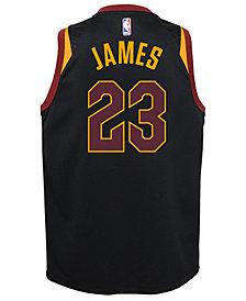 Nike Lebron James Cleveland Cavaliers Statement Swingman Jersey, Big Boys (8-20)