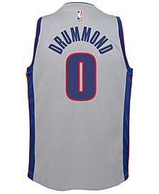 Andre Drummond Detroit Pistons Statement Swingman Jersey, Big Boys (8-20)
