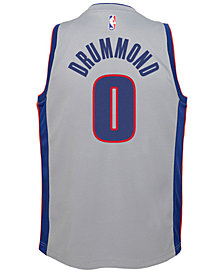 Nike Andre Drummond Detroit Pistons Statement Swingman Jersey, Big Boys (8-20)