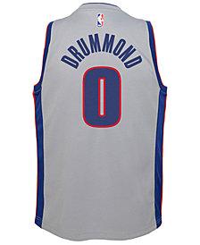 Nike Andre Drummond Detroit Pistons Statement Swingman Jersey, Big Boys (8-20)