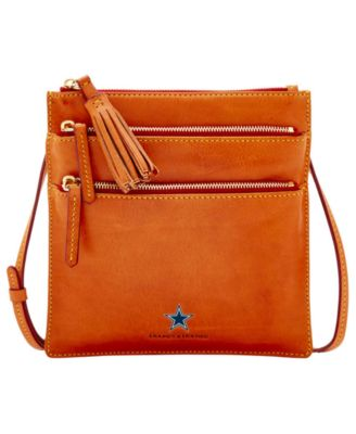 Dallas Cowboys Florentine Triple Zip Crossbody Bag