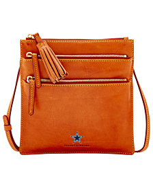 Dooney & Bourke Dallas Cowboys Florentine Triple Zip Crossbody Bag