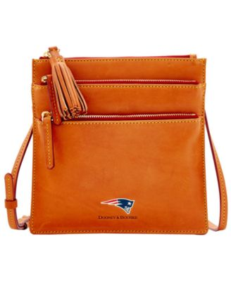New England Patriots Florentine Triple Zip Crossbody Bag