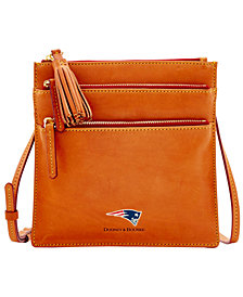 Dooney & Bourke New England Patriots Florentine Triple Zip Crossbody Bag