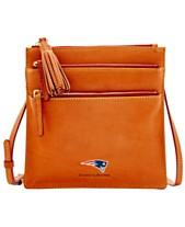 40b44de241 Dooney & Bourke NFL Florentine Triple Zip Crossbody