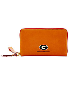 Dooney & Bourke Green Bay Packers Florentine Zip Around Wallet