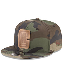 New Era Los Angeles Clippers Camo 9FIFTY Snapback Cap
