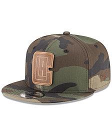 New Era Los Angeles Clippers Camo 9FIFTY Snapback Cap