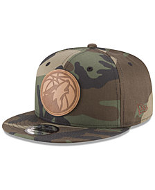 New Era Minnesota Timberwolves Camo 9FIFTY Snapback Cap