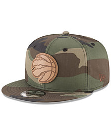 New Era Toronto Raptors Camo 9FIFTY Snapback Cap
