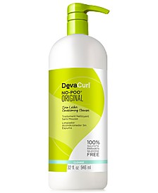 Deva Concepts DevaCurl No-Poo Zero Lather Conditioning Cleanser, 32-oz., from PUREBEAUTY Salon & Spa