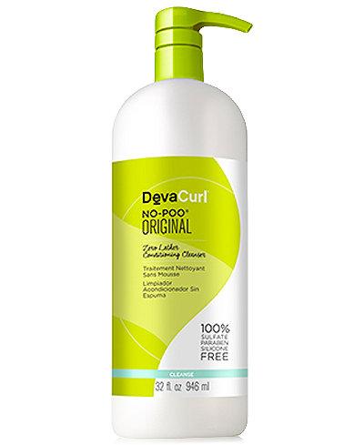 Deva Concepts DevaCurl No-Poo Zero Lather Conditioning Cleanser, 32-oz., from PUREBEAUTY Salon & Spa