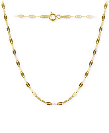 "Giani Bernini Twisted 24"" Chain Link Necklace in 18k Gold-Plated Sterling Silver, Created for Macy's"